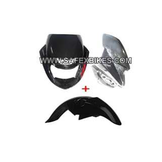 Click to Zoom Image of FRONT FAIRING AND MUDGUARD CBZ EXTREME ZADON