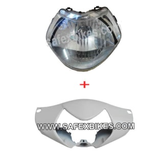 Click to Zoom Image of FAIRING FRONT WITH HEAD LIGHT ASSY AVIATOR ZADON