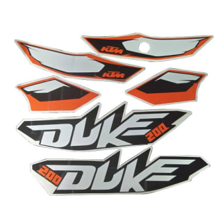 Complete Sticker Kit Duke 200 Zadon