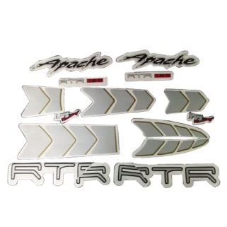 Click to Zoom Image of COMPLETE STICKER KIT APACHE RTR180 ZADON
