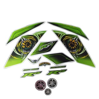 Click to Zoom Image of COMPLETE STICKER KIT R15 THUNDERING GREEN SPECIAL LIMITED EDITION ZADON