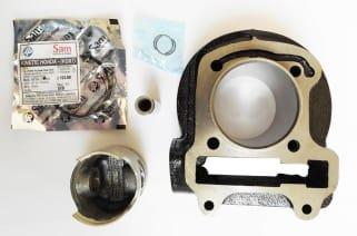 cylinder kit kinetic zoom cc zadon motorcycle parts  kinetic honda kinetic dxkinetic