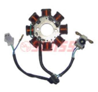 click to zoom image of coil plate assy super splendor swiss