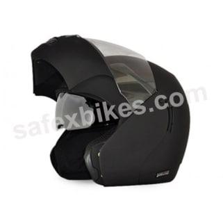 Click to Zoom Image of Vega flip up Helmet - Boolean (Dull Black)