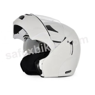 Click to Zoom Image of Vega flip up Helmet - Boolean (White)
