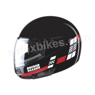 Click to Zoom Image of HELMET NINJA FULL FACE D3 DECOR STUDDS