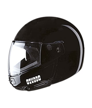Click to Zoom Image of HELMET NINJA PASTEL PLAIN FULL FACE STUDDS