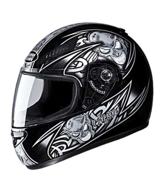 Click to Zoom Image of HELMET RHYNO FULL FACE D2 DECOR STUDDS
