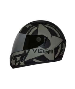 f1901f98 Click to Zoom Image of Vega Helmet - Axor Force (Dull Black Base With Green