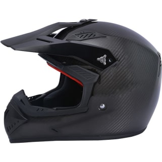 Click to Zoom Image of STEELBIRD-S.B-3030 MOTOCROSS CARBON FIBER FULL FACE HELMET (60 CM)