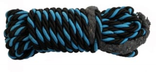 Click to Zoom Image of LEG GUARD ROPE (UNIVERSAL (BLACK AND BLUE) ZADON