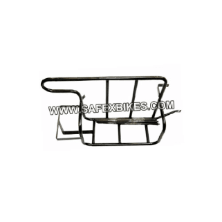 Click to Zoom Image of BLACK LUGGAGE RACK (LADAKH CARRIER) FOR ROYAL ENFIELD BULLET ZADON