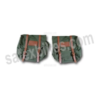 Click to Zoom Image of ROYAL MILITARY SADDLE BAG ROYAL ENFIELD BULLET ZADON