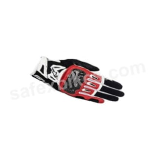 Click to Zoom Image of ALPINESTARS SMX 2 AIR CARBON V2 GLOVES (BLACK,WHITE,RED) UNIVERSAL