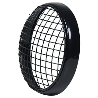 Click to Zoom Image of HEAD LIGHT GRILL BLACK NET TYPE  FOR ROYAL ENFIELD BULLET ZADON