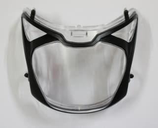 HEAD LIGHT GLASS PULSAR UG3 SAFEX