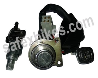 Click to Zoom Image of IGNITION LOCK KIT RX 100