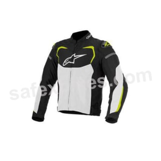 Click to Zoom Image of ALPINESTARS T-GP PRO AIR JACKET (BLACK/WHITE/YELLOW FLUO) UNIVERSAL