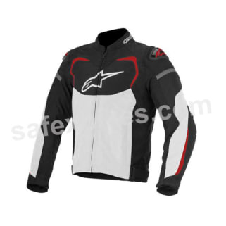 Click to Zoom Image of ALPINESTARS T-GP PRO AIR JACKET (BLACK,WHITE,RED) UNIVERSAL