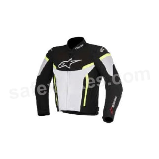 Click to Zoom Image of ALPINESTARS T-GP PLUS R V2 AIR JACKET (BLACK,WHITE,YELLOW FLUO) UNIVERSAL