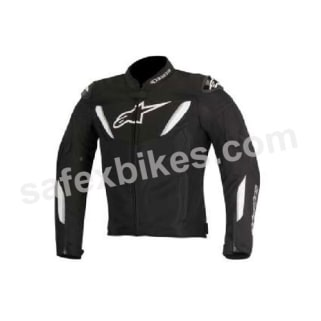 Click to Zoom Image of ALPINESTARS T-GP R AIR JACKET (BLACK,WHITE) UNIVERSAL