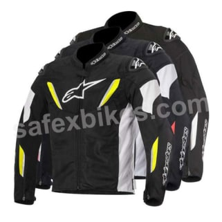 Click to Zoom Image of ALPINESTARS T-GP R AIR JACKET (BLACK,WHITE,YELLOW FLUO) UNIVERSAL