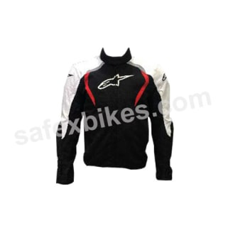 Click to Zoom Image of ALPINESTARS ALUX WATERPROOF JACKET (BLACK,WHITE,RED) UNIVERSAL