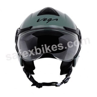 Click to Zoom Image of Vega - Verve Ladies open face Helmet (Army Green)