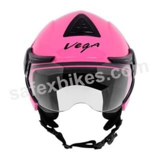 Click to Zoom Image of Vega - Verve Ladies open face Helmet (Pink)