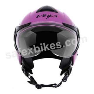 Click to Zoom Image of Vega - Verve Ladies open face Helmet (Purple)