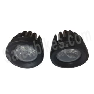 Click to Zoom Image of POWER LIGHT LED FOGLAMP SET OF 2 HEAVY DUTY METAL BODY ROADYS