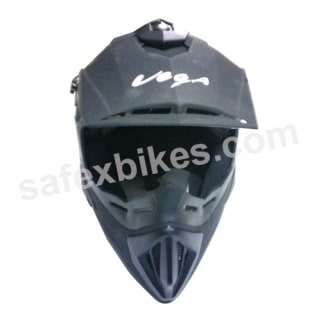Click to Zoom Image of VEGA MOTOCROSS HELMET OFFROAD DULL BLACK