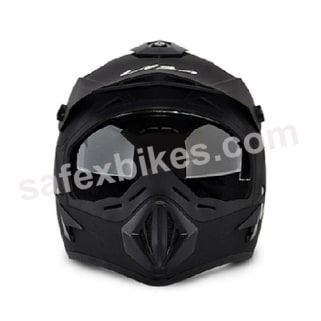 Click to Zoom Image of Vega Helmet - Off Road MOTOCROSS FULL FACE (Dull Black)