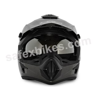 Click to Zoom Image of Vega motocross full face Helmet - Off Road (Anthracite Grey)