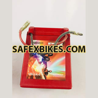 Click to Zoom Image of 12XR2.5L-C 2.5AH BATTERY FOR BIKE EXIDE XTREME