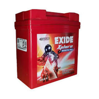 Click to Zoom Image of 2XR7B-B 7AH BATTERY FOR BIKE EXIDE XTREME