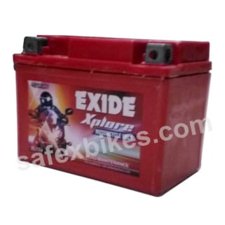 Click to Zoom Image of XLTZ4 3AH BATTERY FOR BIKE EXIDE XPLORE