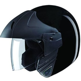 Click to Zoom Image of HELMET NINJA CONCEPT OPEN FACE STUDDS