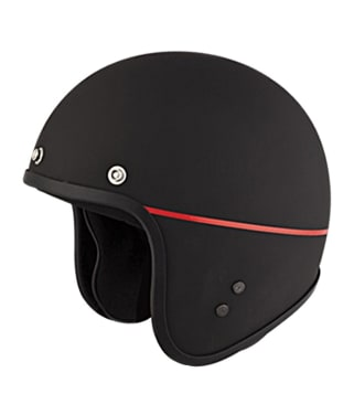 Click to Zoom Image of HELMET JETSTAR OPEN FACE STUDDS