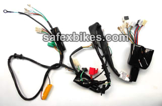 click to zoom image of wiring harness shine nm es (cdi unit four pin+