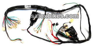 Astounding Wiring Harness Cd Dawn Ks Swiss Motorcycle Parts For Hero Honda Cd Dawn Wiring Cloud Usnesfoxcilixyz