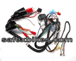 WIRING HARNESS CT100 CC KS (WITH 3 PIN HOLDER) SWISS