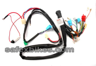 Enjoyable Wiring Harness Scooty Es Zadon Motorcycle Parts For Tvs Scooty Wiring Digital Resources Indicompassionincorg