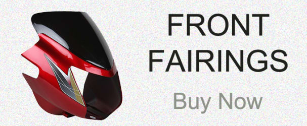 Genuine High Quality Fairings , Visors , Cowls For Motorcycles And Scooters