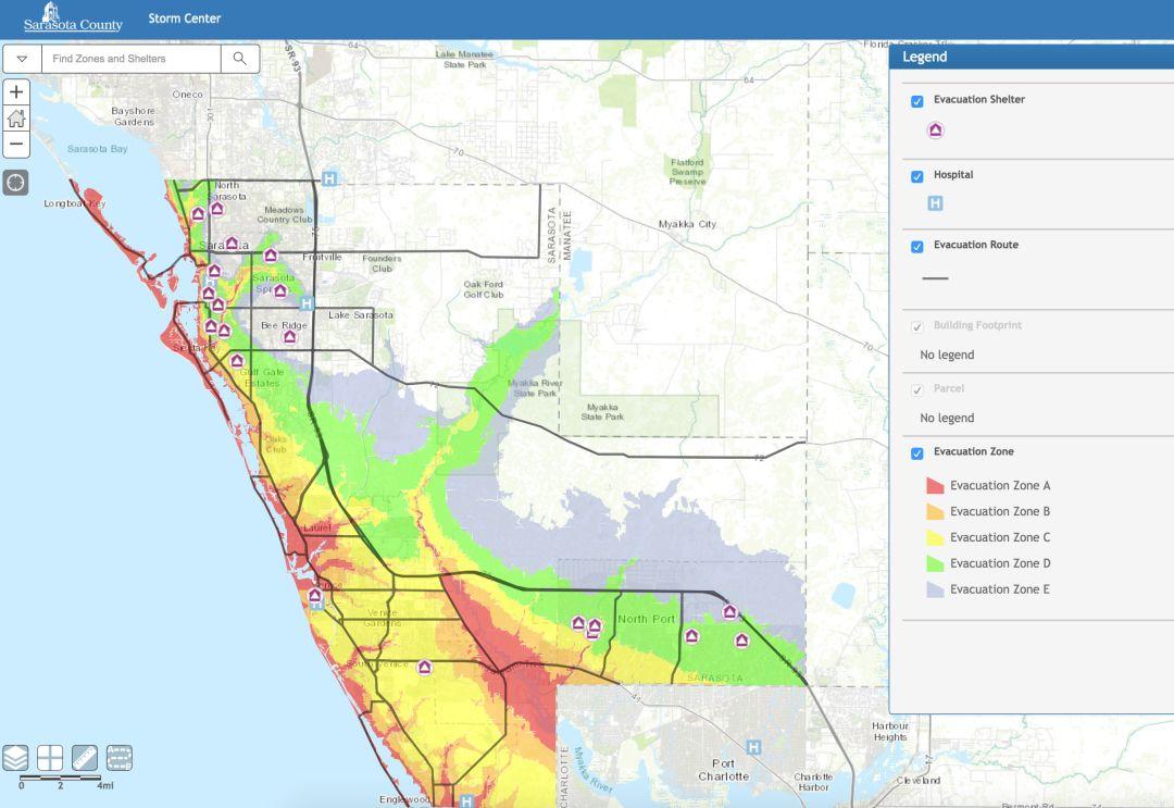 Do You Know Your Evacuation Zone Sarasota Magazine
