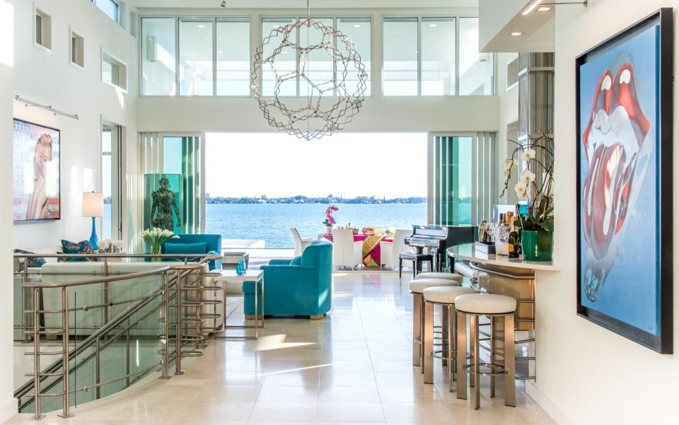 Tour a Colorful Harbor Acres Home Designed by Pamela Hughes of