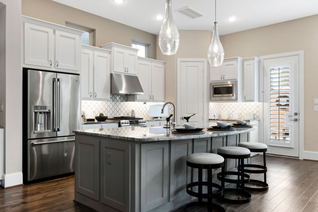 Spacious kitchen in a Retreat at Bunker Hill home.