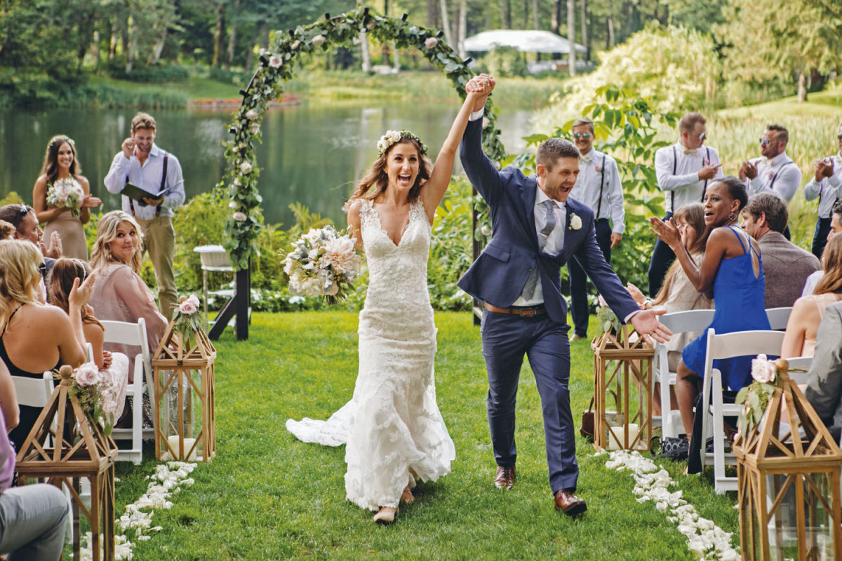Real Wedding: Melissa Mattos & Benjamin Omlid