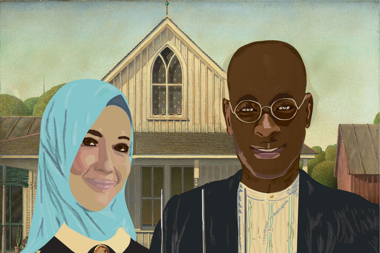 Embracing our differences 2018  new american gothic by logan lott valdosta georgia a7igwl