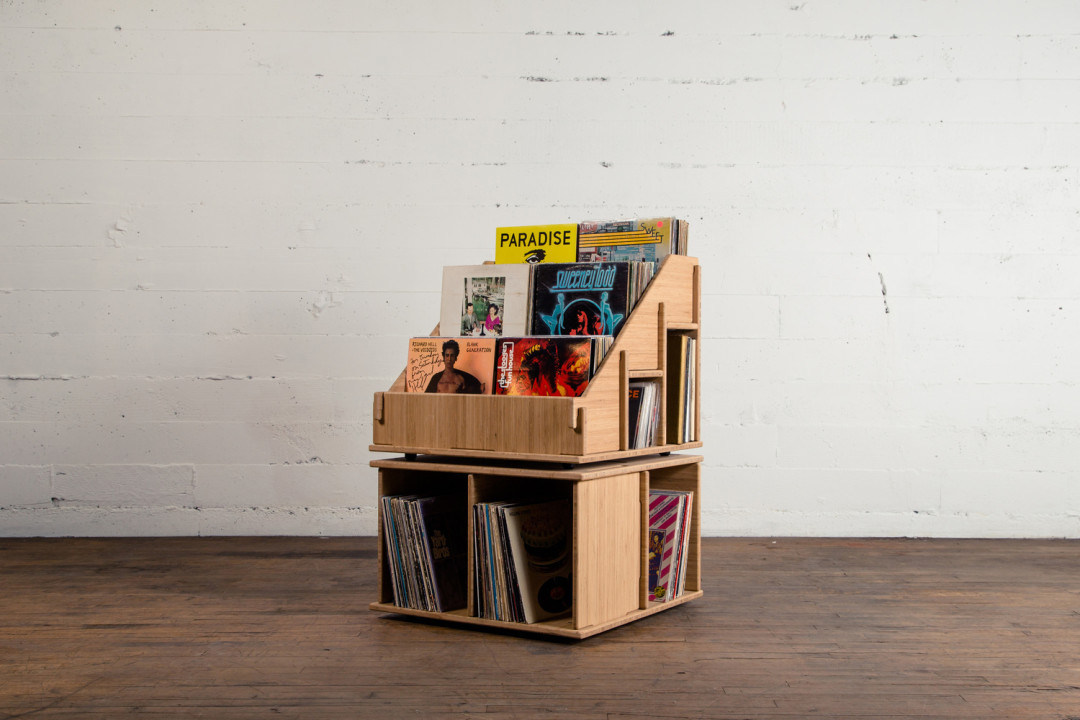 The Portland-Made Solution to Your Vinyl LP Storage Dilemma